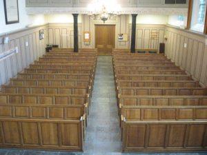 Lutherse kerk kerkzaal